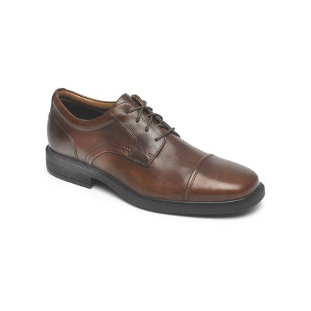 DresSports Luxe Cap Toe Oxford New Brown