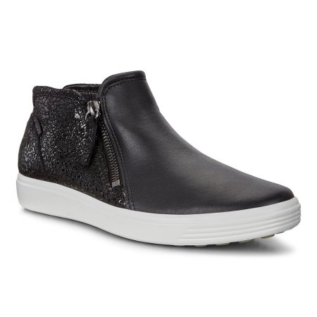 Soft 7 Low Bootie Black