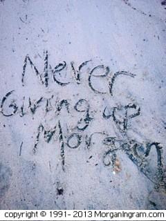 Never Giving Up Morgan