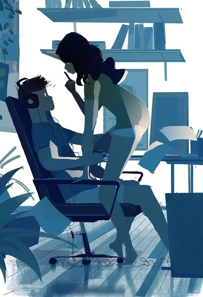 Du und ich, by Pascal Campion