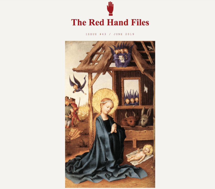 The Red Hand Files by Nick Cave