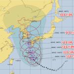 台風10号進路予想福岡への影響を米軍やヨーロッパECMWF(Windy)で調査