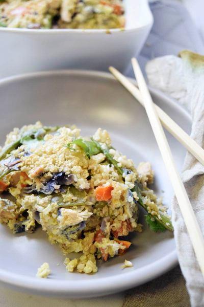 Paleo Sticky Rice Casserole