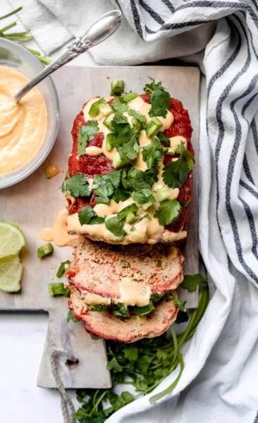 Paleo Enchilada Meatloaf