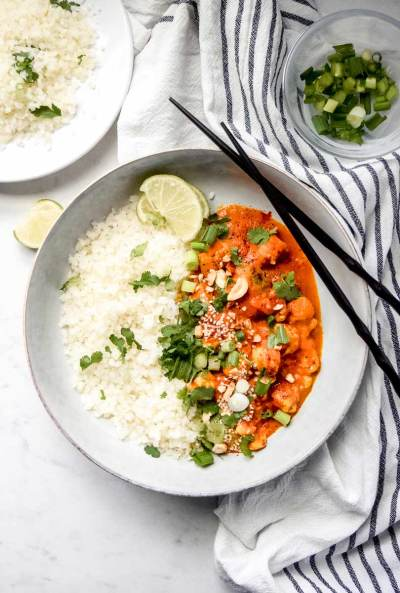 Thick Carrot Chicken Curry