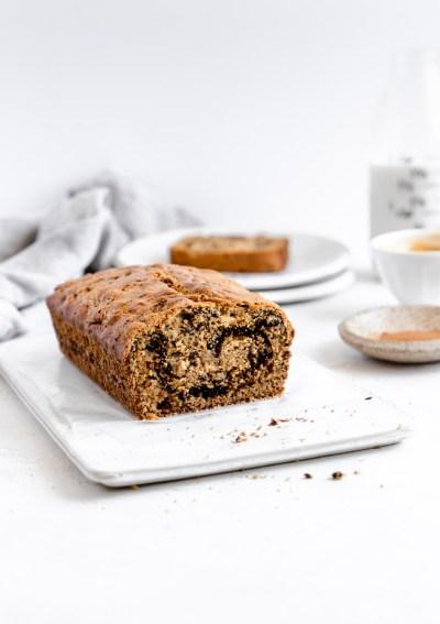 Healthy Cinnamon Swirl Bread (gluten free)