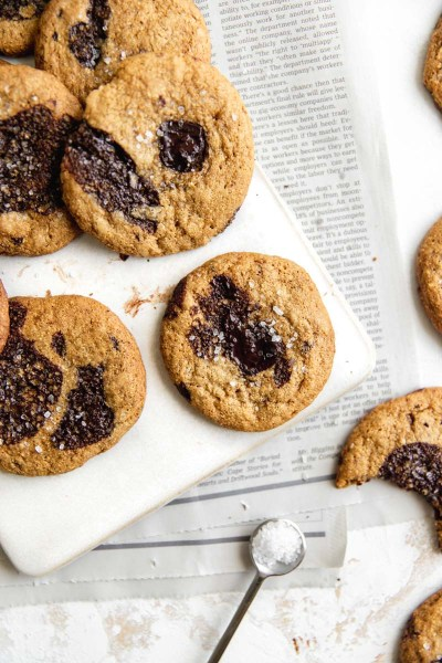 Chewy Cassava Flour Chocolate Chip Cookies (Nut Free)