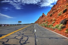 US Route 89 by Wolfgang Staudt