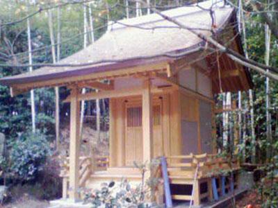 お寺のお堂施工例