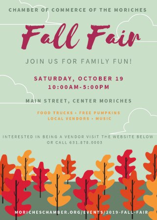 2019 Fall Fair @ Main Street | Center Moriches | New York | United States