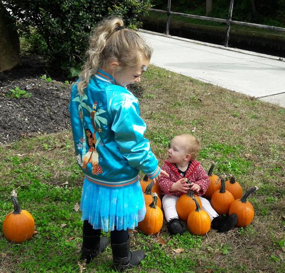 Kids at the Center Moriches Fall Fair