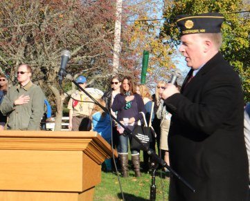 George Kreuscher, Star Spangled Banner - 2018 East Moriches Veterans Day Parade