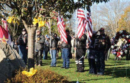 Soldiers & Sailors Memorial Park - 2018 East Moriches Veterans Day Parade