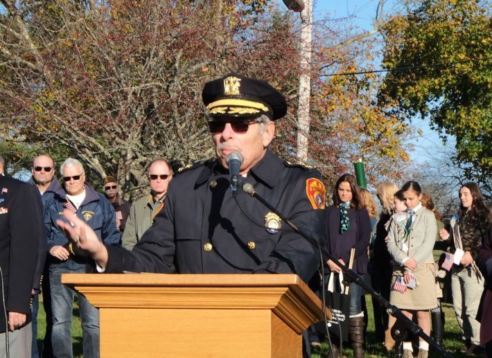 Rabbi Steven Moss - 2018 East Moriches Veterans Day Parade