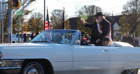 Grand Marshal Paul Haines - 2018 East Moriches Veterans Day Parade