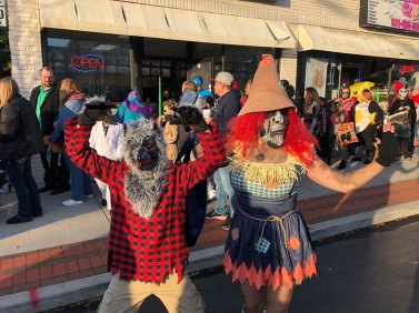 March of the Goblins, Halloween, Center Moriches: scary costumes
