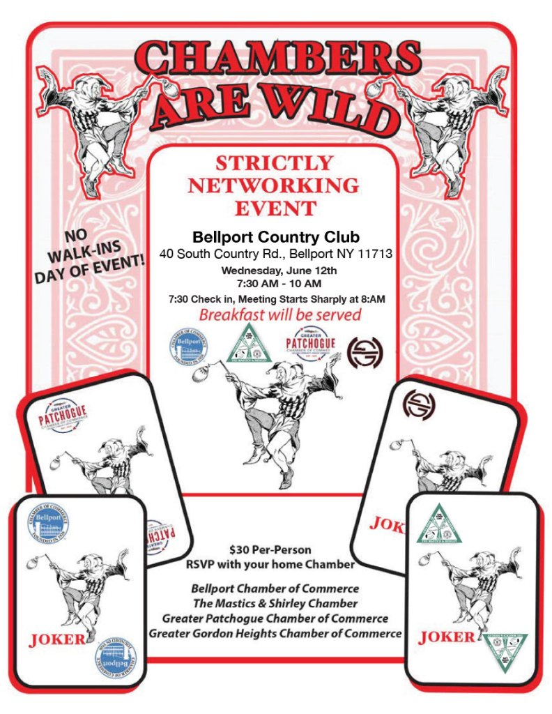 """Chambers Are Wild"" Joint Chamber Networking Meeting"