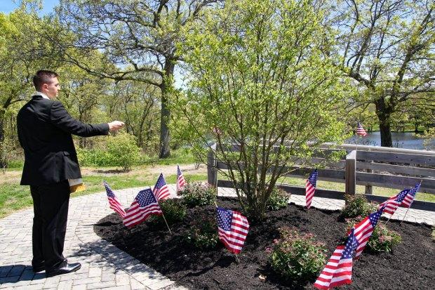 Major Andy O'Keeffe tree memorial - 12