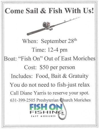 Presbyterian Church Moriches Fishing Trip @ Wind Swept Marina | East Moriches | New York | United States
