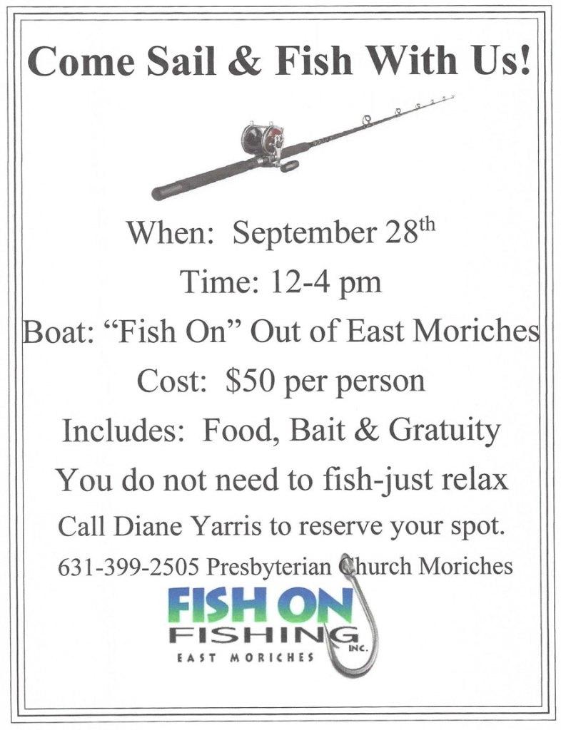 Presbyterian Church Moriches Fishing Trip