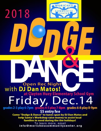 Dodge & Dance Open Rec Night - Grades 2-3 @ Clayton Huey Elementary School | Center Moriches | New York | United States