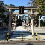 【守口市名所旧跡案内】式内 津嶋部神社
