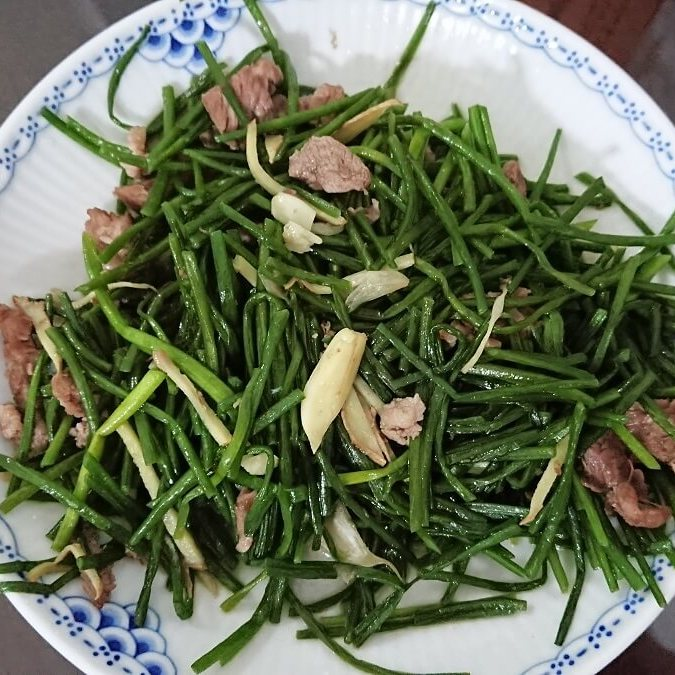 羊肉水蓮菜