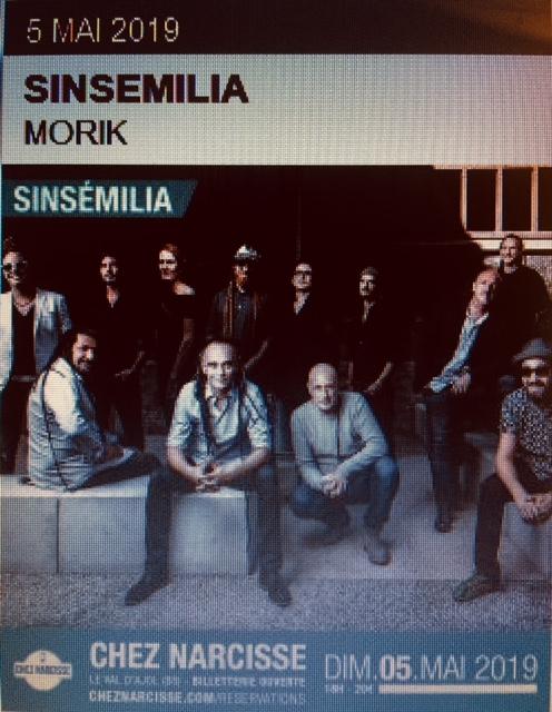 Cz Narcisse : Morik + Sinsemilia (entrée 20€)