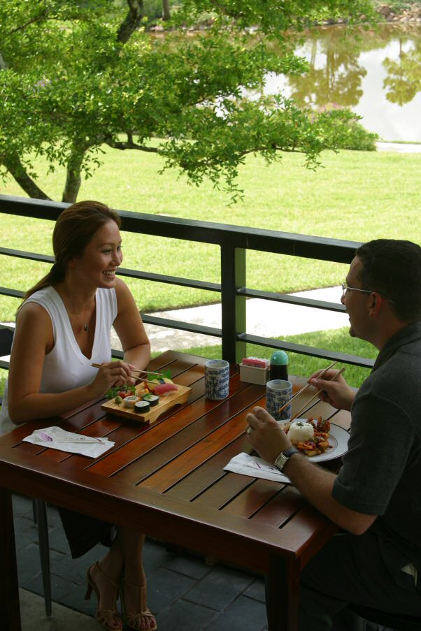 No Snow in SoFla! It's Time for Morikami's Outside Dining (2/2)