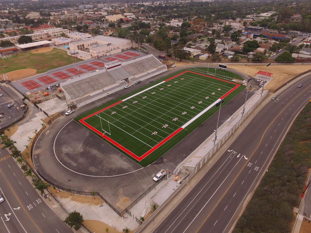 Fullerton Union HS Stadium