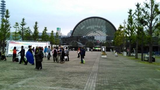 大阪マラソン 受付 インテックス大阪