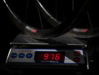 ロードバイク ホイール 実測重量