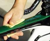 ロードバイク ガラスコーティング クリスタルグロウ