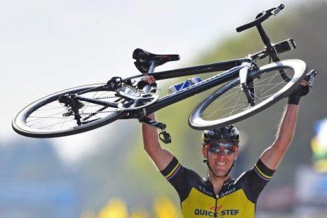ロンド・ファン・フラーンデレン優勝者の機材 フィリップ・ジルベール