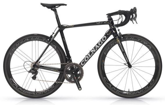 【2018年モデル】コルナゴ『V2-R』。空力、ディテールを改善し、更なる高みを目指した軽量エアロロードバイク。 ブラック/ゴールド