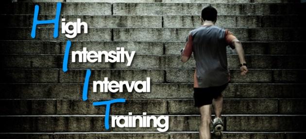 HIIT 略 high intensity interval training