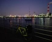 東京-大阪間550kmをロードバイクで走るキャノンボール完全ガイド! 四日市コンビナート 夜景