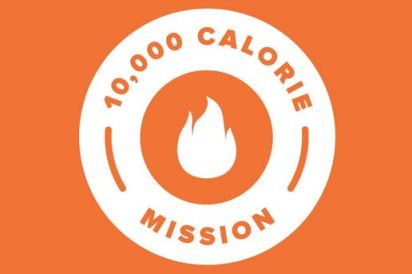 10,000 Calorie Mission zwift ズイフト