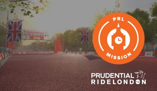 RIDE LONDON MISSION zwift ズイフト