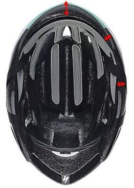 スペシャライズド2018新型『EVADE』。エアロ効果を押し進めたヘルメット。頭頂部 イヴェード 出っ張り減少 スマート