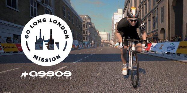 Go Long London mission zwift ズイフト