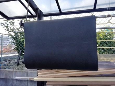 ローラー台マット7種頂上決戦。 MINOURA ミノウラ トレーニングマット4 ALINCO アルインコ EXP150 匂い ゴム臭 天日干し