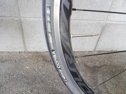 シマノ「WH-R9100-C40-CL」 VITTORIA「CORSA」25c タイヤ ホイール インプレッション レビュー