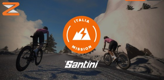 Italia Mission zwift ズイフト