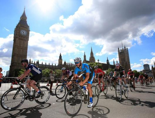 「Prudential Ride London Mission」2016年9月 zwift ズイフト