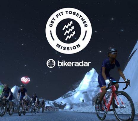 Get Fit Together zwift ズイフト ミッション bikeradar