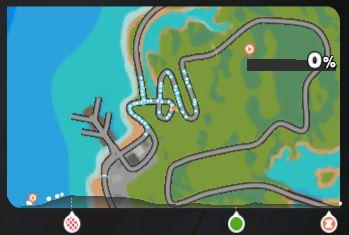 ライド画面の詳細説明 ZWIFT ズイフト コースマップ