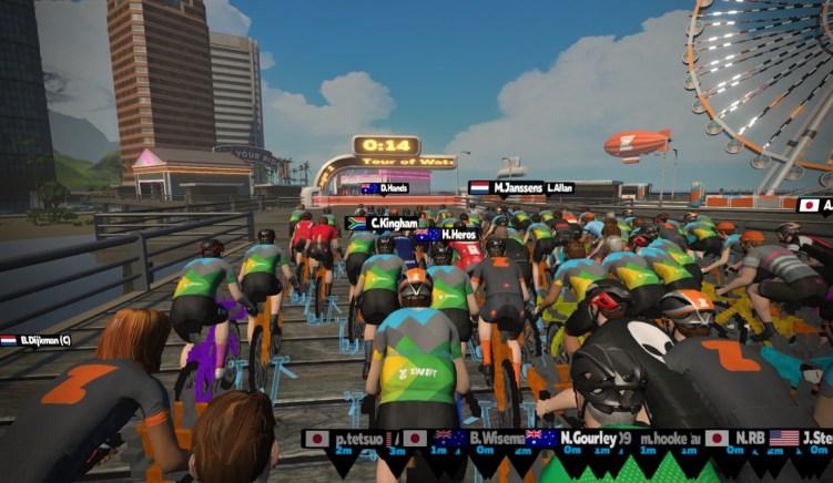 レースで勝利するためのメソッド 前方待機 スタート