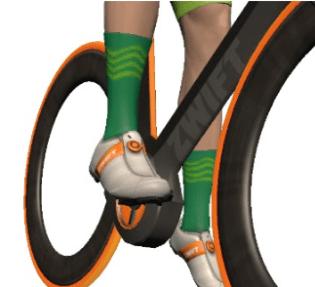 ZWIFT(ズイフト) ヘルメット/グローブ/ソックス/サングラスの入手方法 Zwift Academy Socks