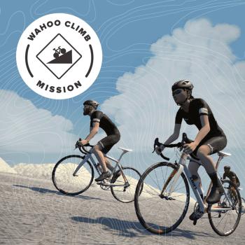 ZWIFT(ズイフト) 過去に行われた全21ミッション一覧 「Wahoo Climb Mission」2018年12月